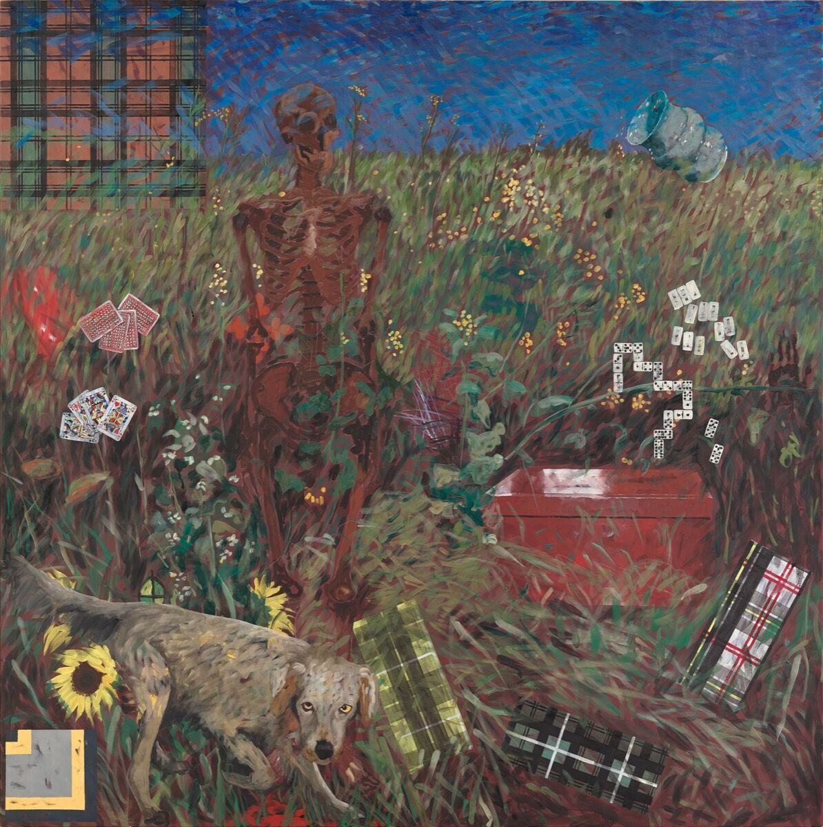 Jennifer Bartlett, Fall, 1990. Courtesy of the artist and Locks Gallery.