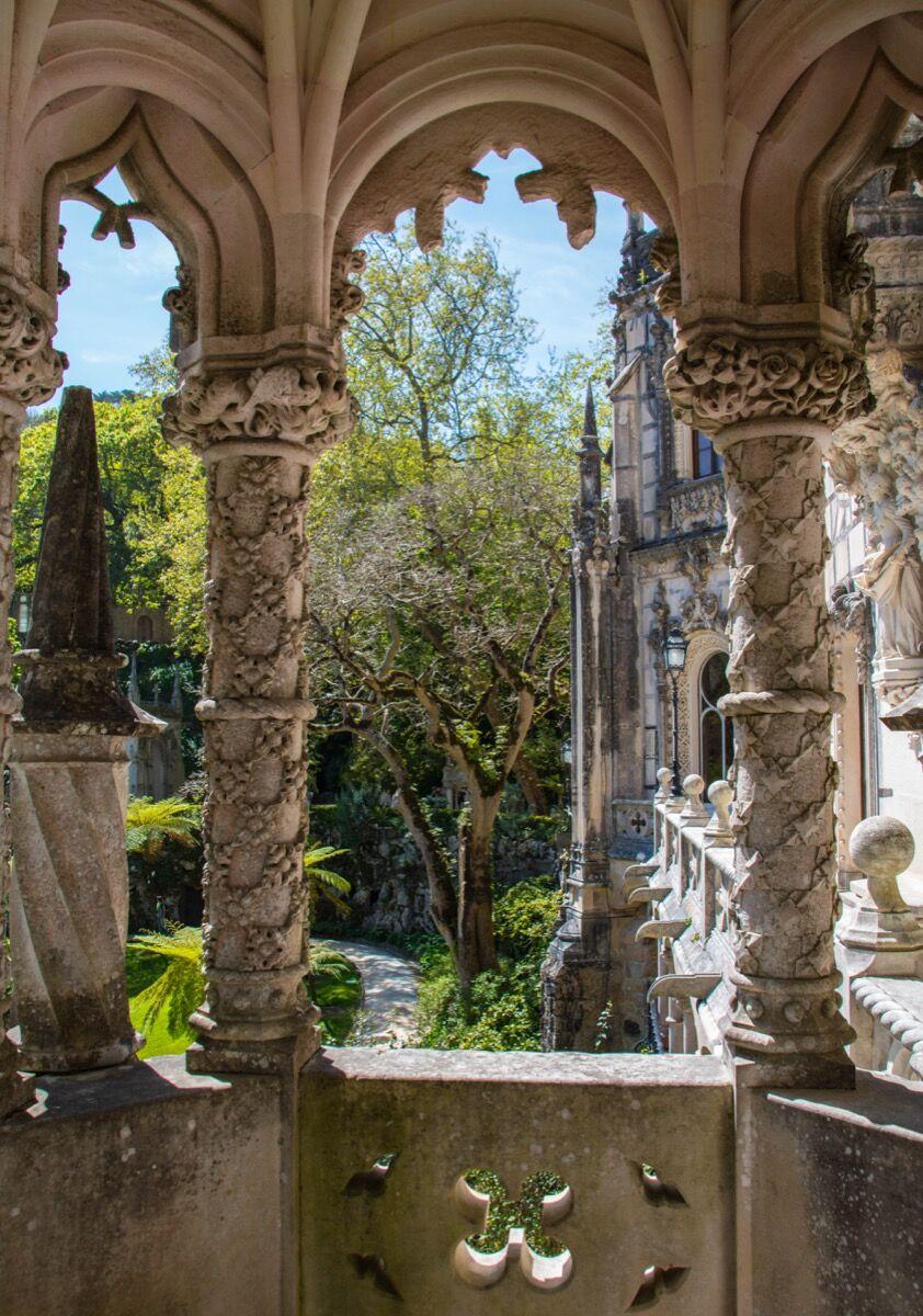 The gardens of the Quinta da Regaleira, Sintra, Portugal, 2017. Photo by Maria Eklind, via Flickr.