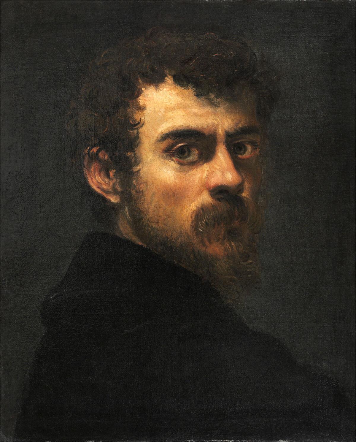 Jaco Tintoretto, Self-Portrait, c. 1546/48. Courtesy of The Philadelphia Museum of Art / Art Resource, New York.