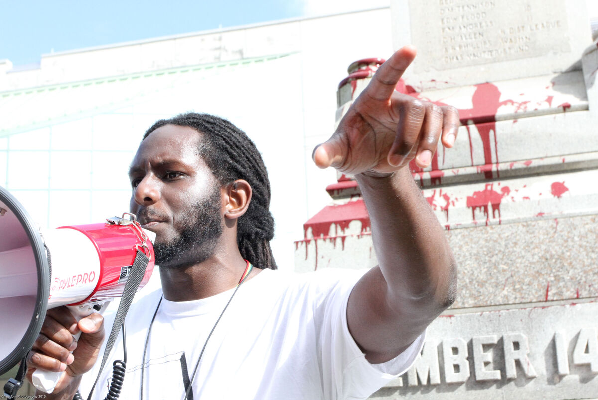 "Michael ""Quess?"" Moore of Take Em Down NOLA. Photo by Christine ""Cfreedom"" Brown, courtesy of Take Em Down NOLA."