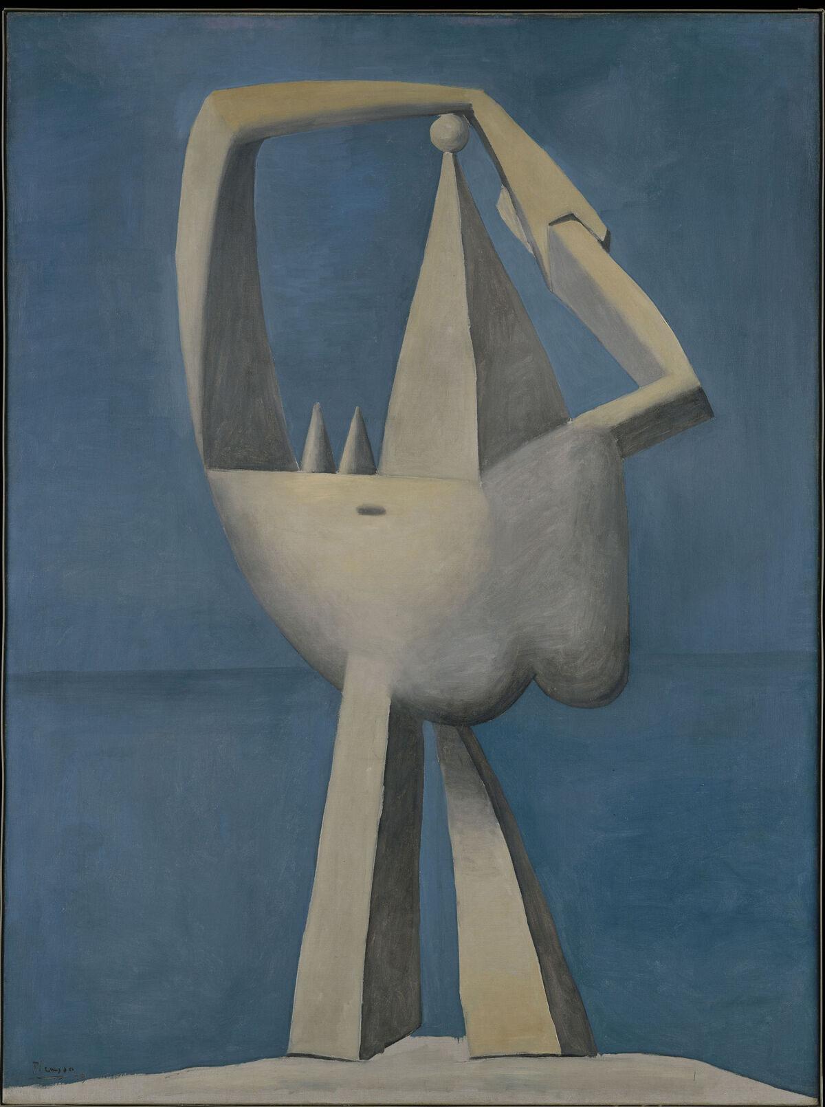 Picasso, Nude Standing by the Sea, 1929. The Metropolitan Museum of Art. © Sucesión Picasso. VEGAP, 2017. Courtesy of Museo Nacional Centro de Arte Reina Sofía.