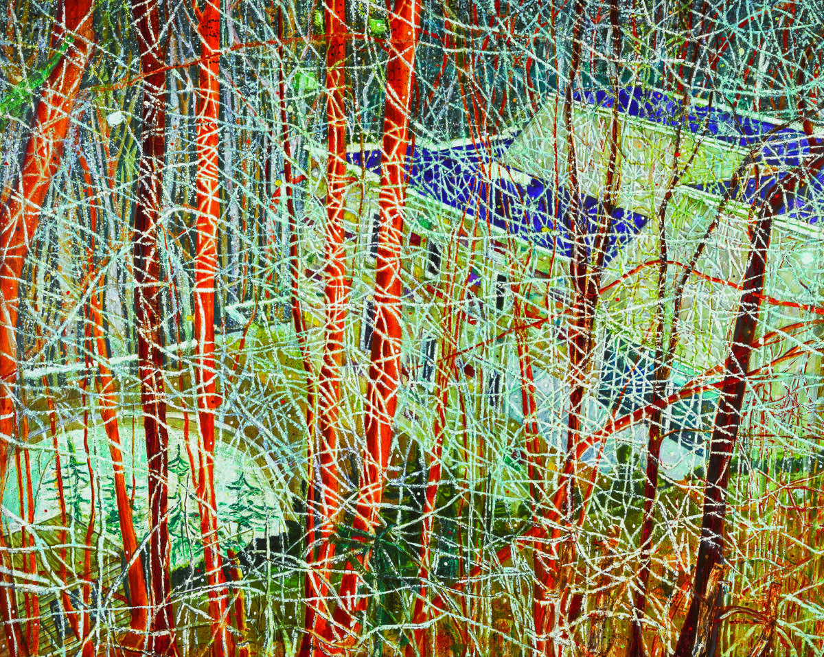 Peter Doig, The Architect's Home in the Ravine, 1991. © Sotheby's.