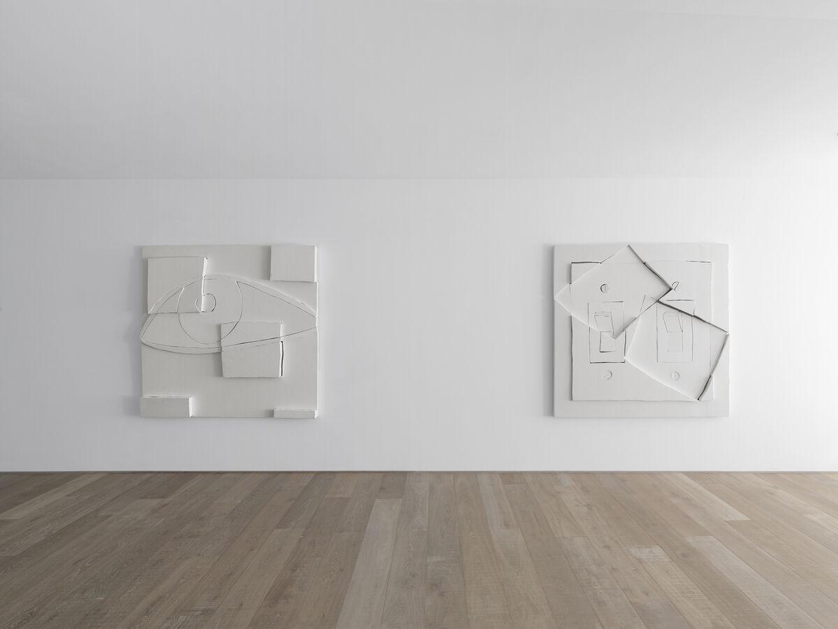 Installation view, Wyatt Kahn at Xavier Hufkens, Brussels. Courtesy ofXavier Hufkens, Brussels.