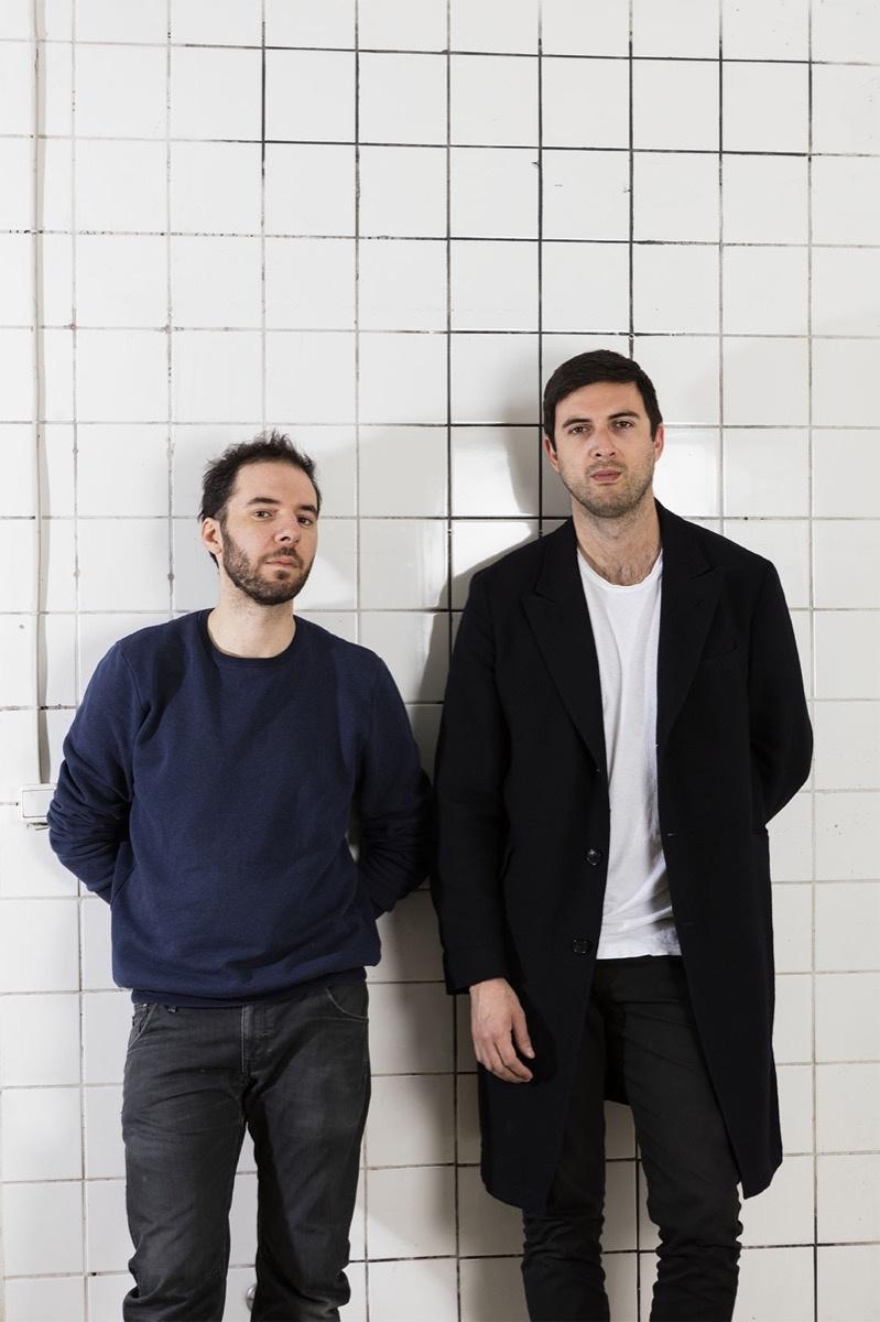 Emiliano Pistacchi and Anthony Salvador. Photo by Andrea Rossetti, courtesy of Frankfurt am Main.