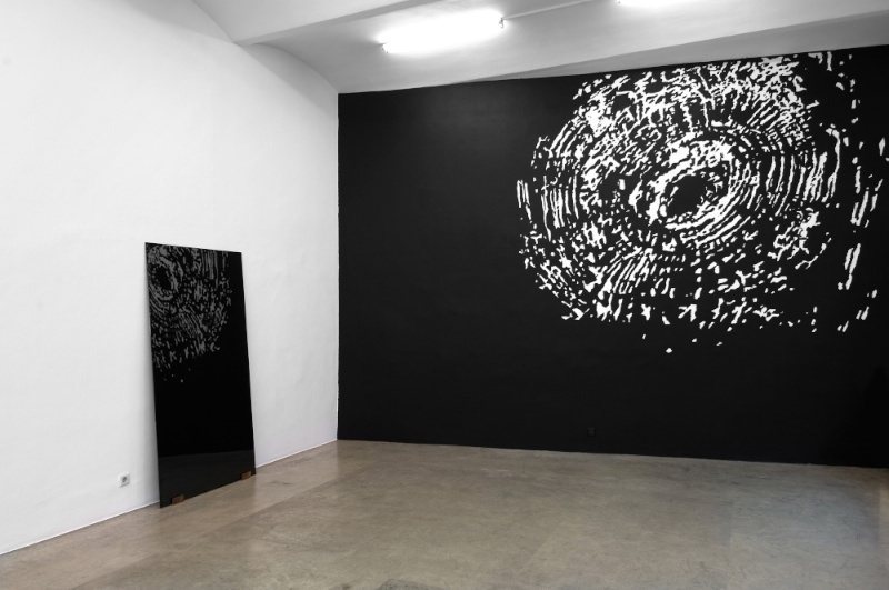 Work by Andreas Duscha. Image courtesy of Christine König Galerie.