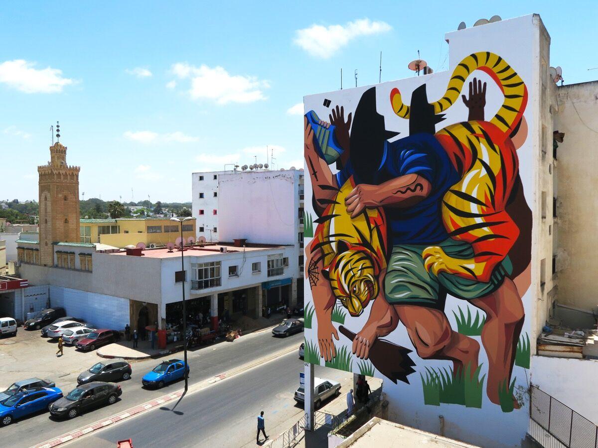 Artwork by Jaz, Rabat. Photo courtesy of the artist.