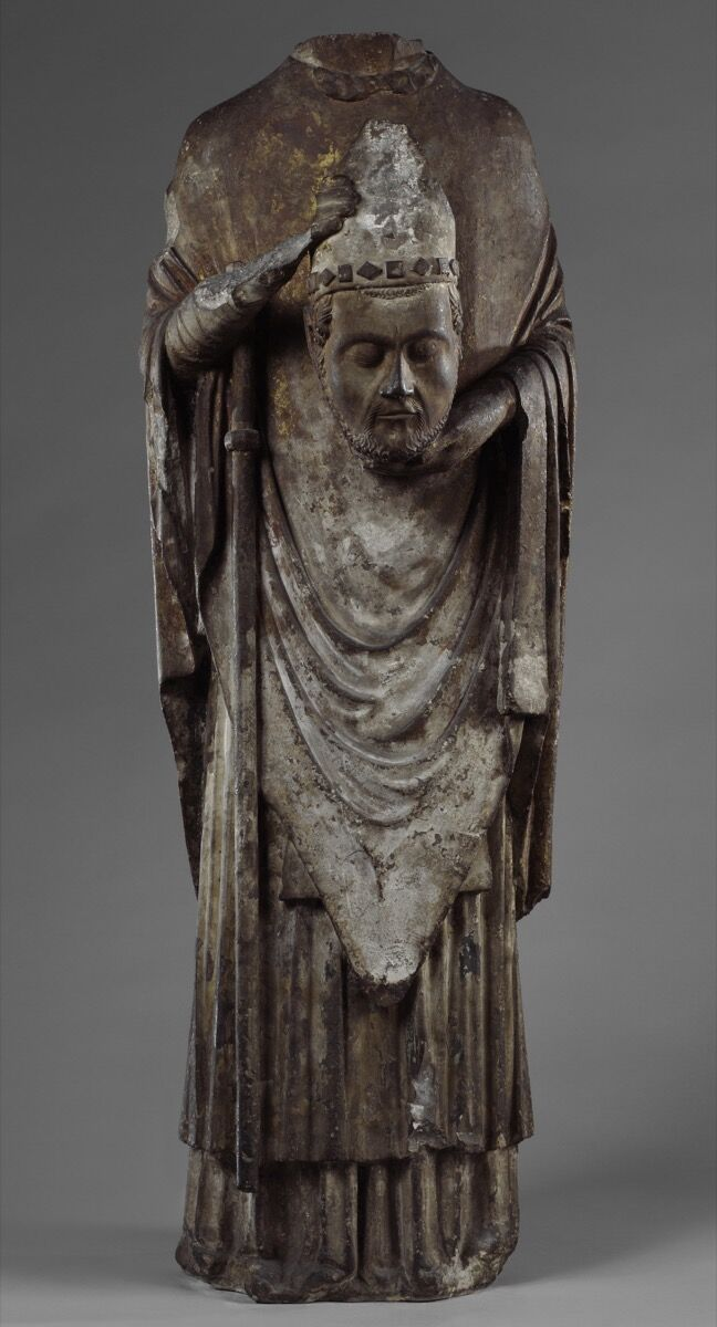 St. Firmin Holding His Head, Amiens, France, ca. 1225-75. © The Metropolitan Museum of Art. Courtesy of The Metropolitan Museum of Art and Art Resource, New York.