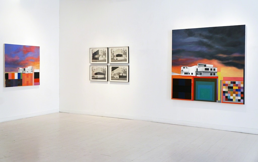 """Installation view of""""Tomorrow-Land"""" at 532 Gallery Thomas Jaeckel, courtesy 532 Gallery Thomas Jaeckel"""
