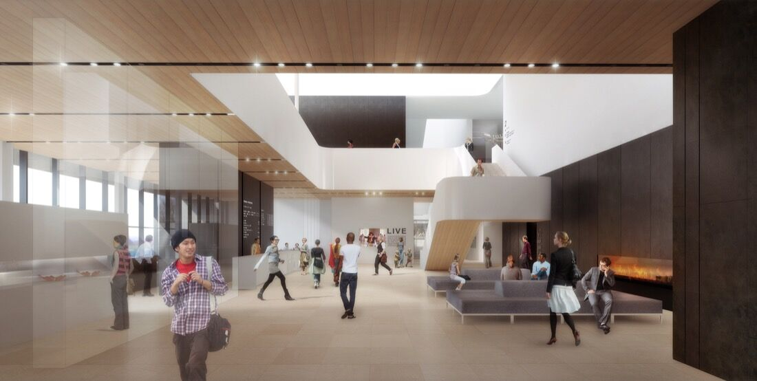 Rendering of the Remai Modern. Courtesy of the museum.