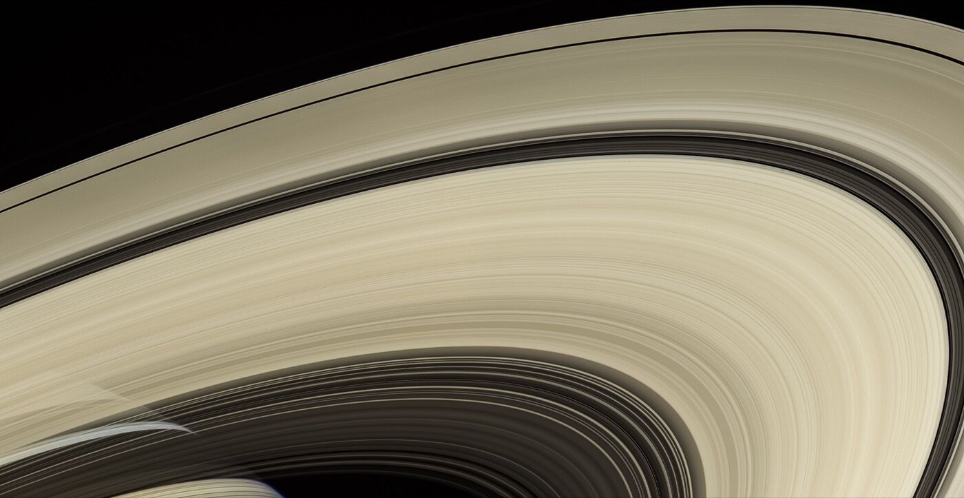 Saturn's rings are perhaps the most recognized feature of any world in our solar system. Courtesy of NASA/JPL-Caltech/Space Science Institute.