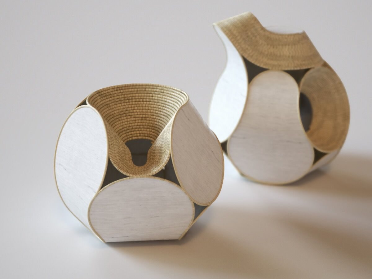 Wood Basket 01 and Wood Basket 02. Image courtesy of Aranda/Lasch and Terrol Dew Johnson.