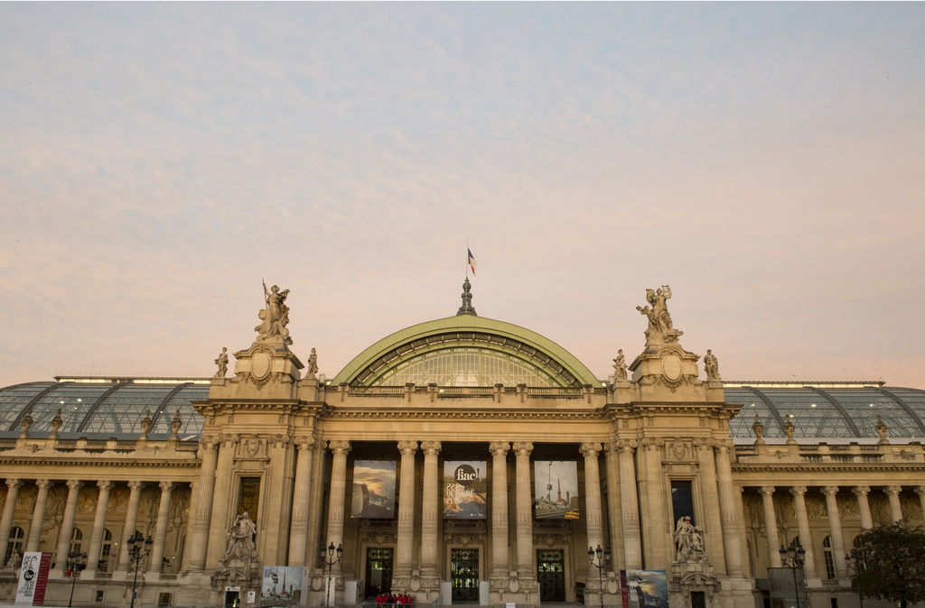 Outside view of the Grand Palais. Photo by Marc Domage, courtesy FIAC.