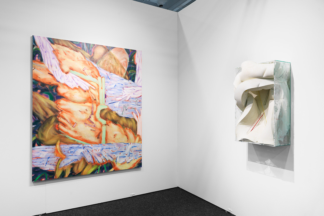 Installation view of REGINA REX's booth at NADA New York, 2016. Photo by Object Studies for Artsy.