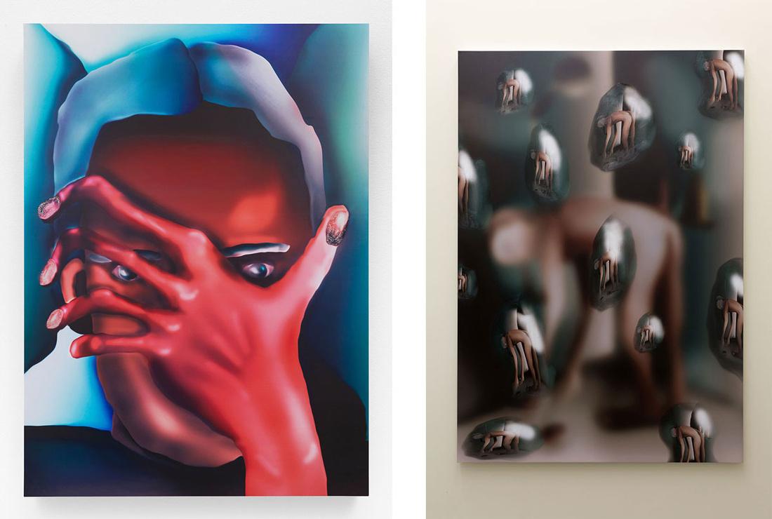 Left: Louisa Gagliardi,Madrugada, 2015; Right: Louisa Gagliardi, La Belle Heure, 2016. Images courtesy of the artist and Tomorrow.