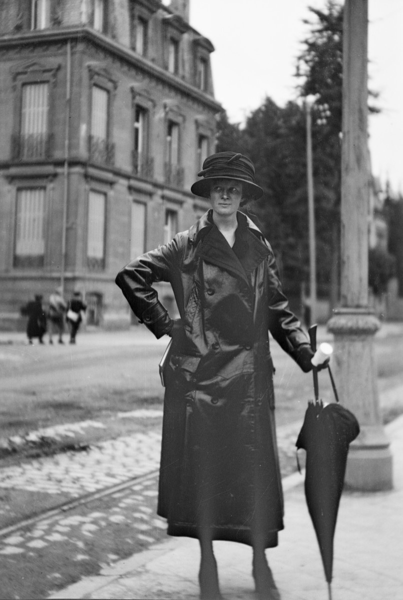 Helen Clay Frick in Belgium, August 1920. Courtesy of The Frick Collection/Frick Art Reference Library Archives.