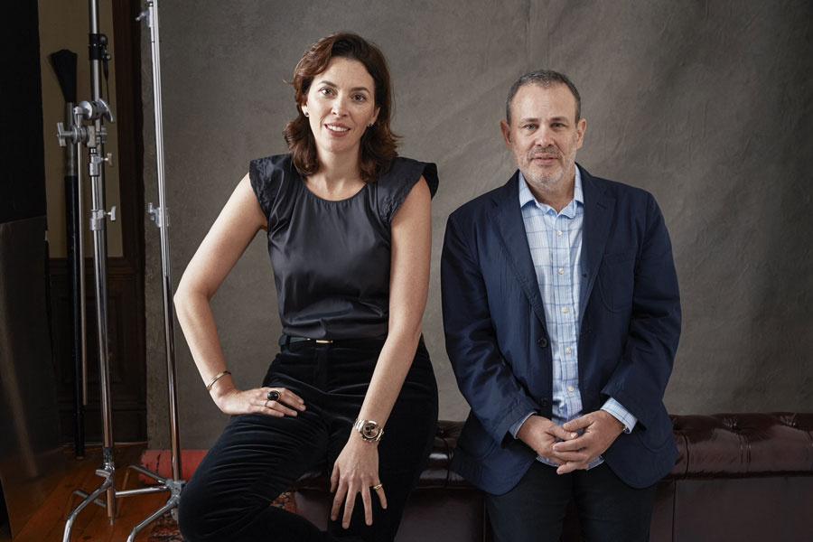 Portrait of Amy Cappellazzo and Allan Schwartzman of Art Agency, Partners, courtesy of Art Agency, Partners. Photo by Roe Etheridge