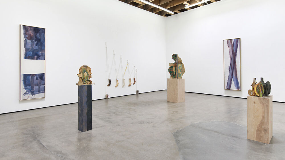 "Installation view of ""Katy Cowan: The Studio, The Sketch,"" at Cherry and Martin, Los Angeles. Courtesy Cherry and Martin and the artist."