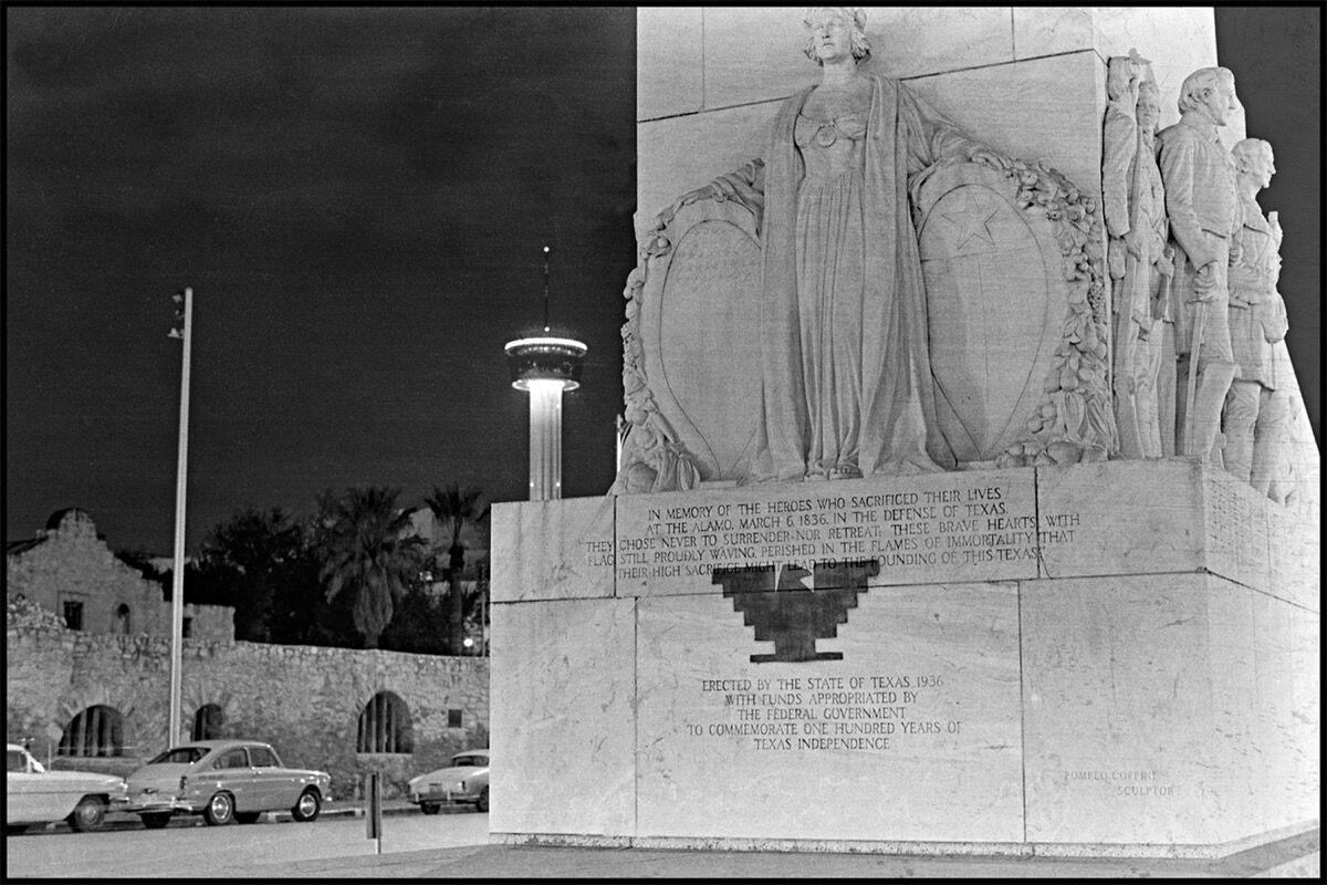 César Martínez, Cenotaph Aguila, 1972. Courtesy of Ruiz-Healy Art.