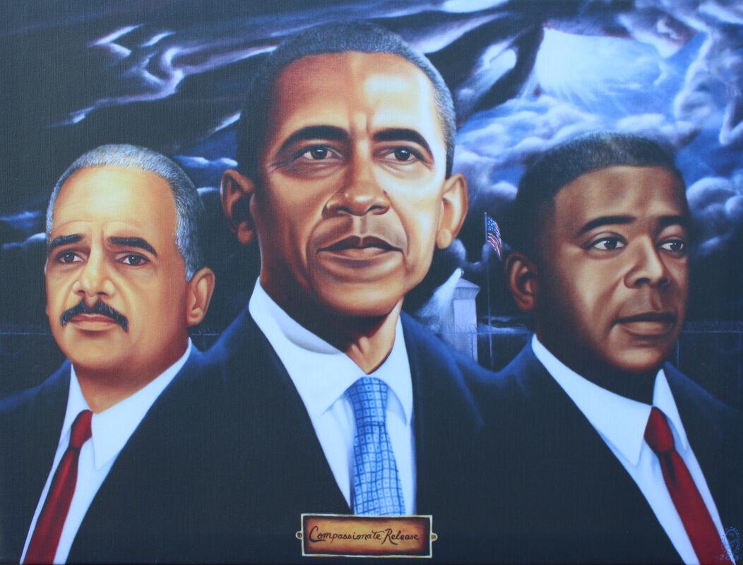 Fulton Leroy Washington, Compassionate Release, 2013. Courtesy of the artist.