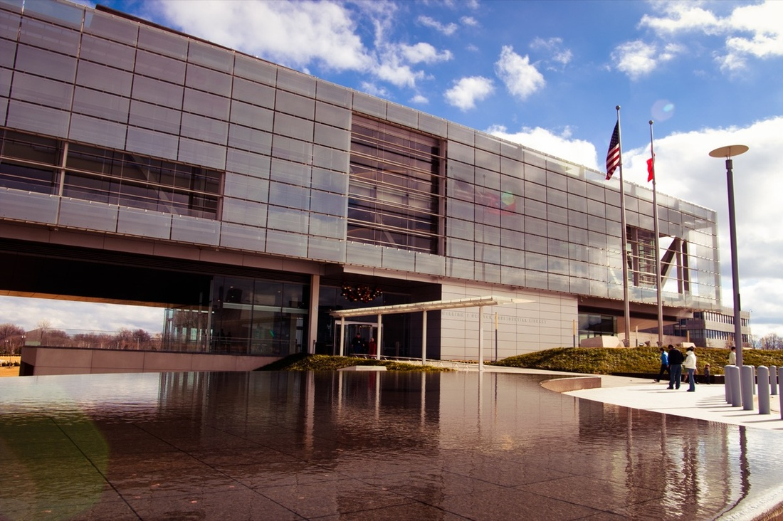 Bill Clinton Presidential Library, Little Rock, Arkansas. Photo by Stuart Seeger, via Flickr.