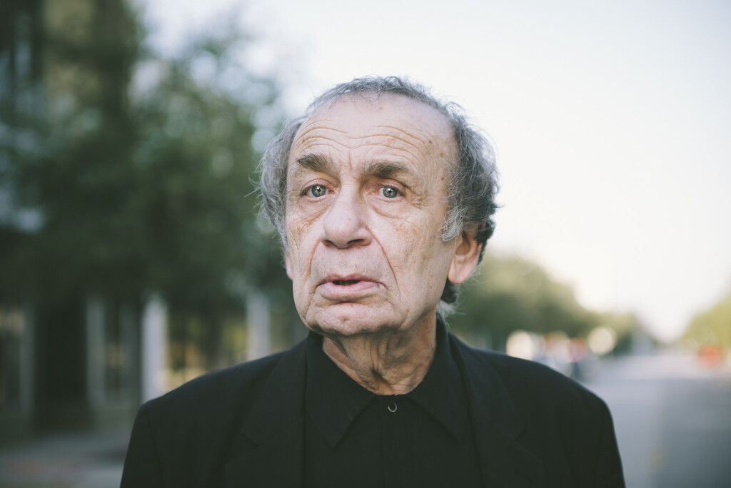 Portrait of Vito Acconci by Gesi Schilling. Photo courtesy of Gesi Schilling.