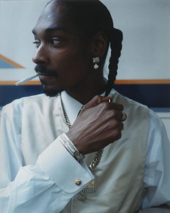 "Brian ""B+"" Cross, Snoop Dogg, Los Angeles, 1997. Image courtesy of the artist."