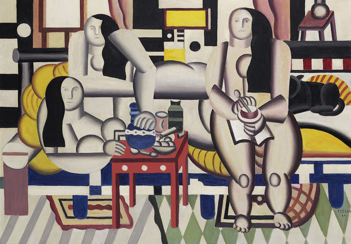 Fernand Léger, Le grand déjeuner, 1921. Courtesy of Christie's.