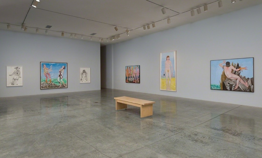 "Installation view of ""Charles Garabedian: Sacrifice for the Fleet"" at L.A. Louver, Los Angeles. Courtesy of L.A. Louver and the artist."