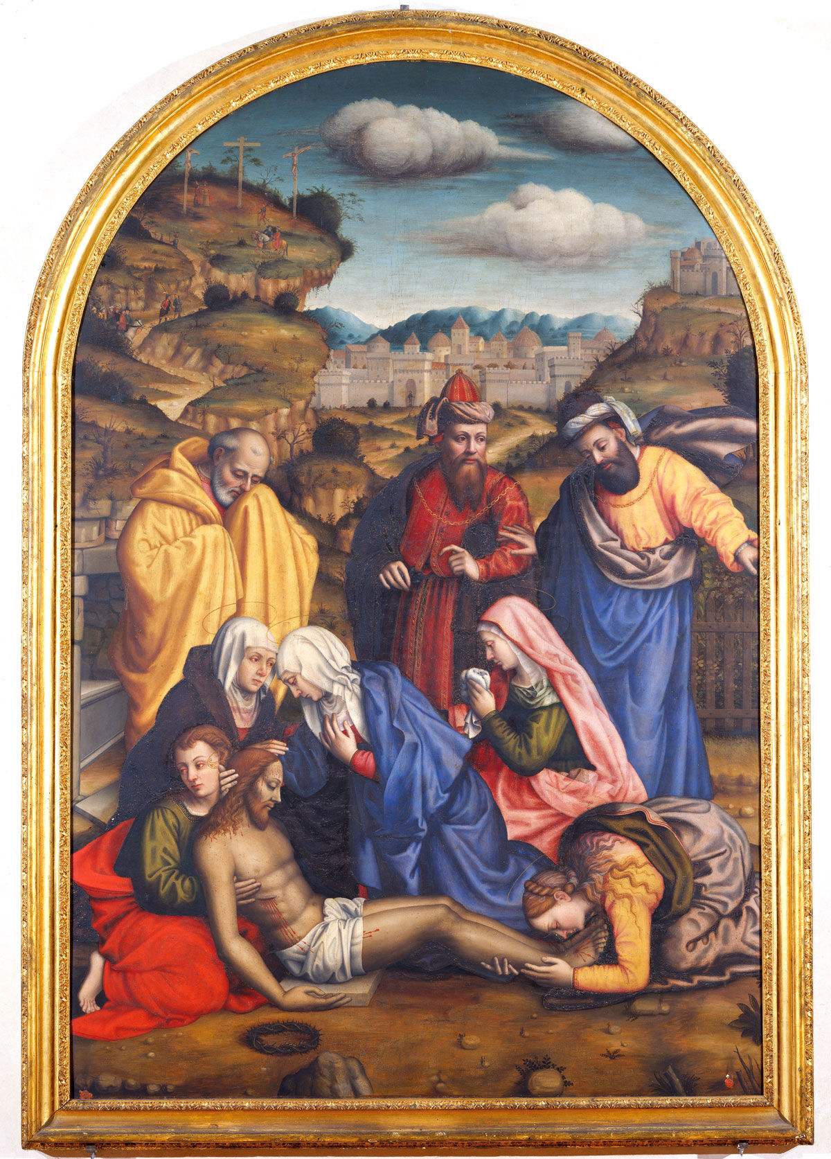 Suor Plautilla Nelli, Lamentation with Saints.  Courtesy of the Advancing Women Artists Foundation.