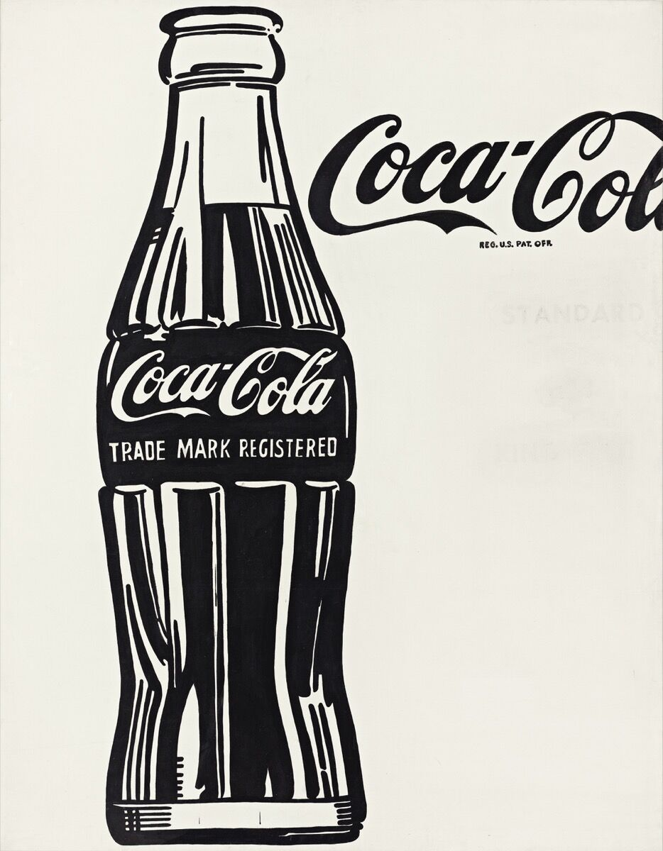 Andy Warhol (1928–1987), Coca-Cola [3], 1962. © The Andy Warhol Foundation for the Visual Arts, Inc. / Artists Rights Society (ARS) New York. Courtesy of the Whitney Museum of American Art.