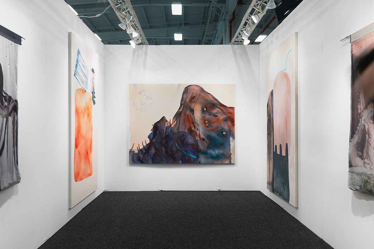 Installation view of works by Ragna Bley at Hester's booth at NADA New York, 2016. Photo by Object Studies for Artsy.