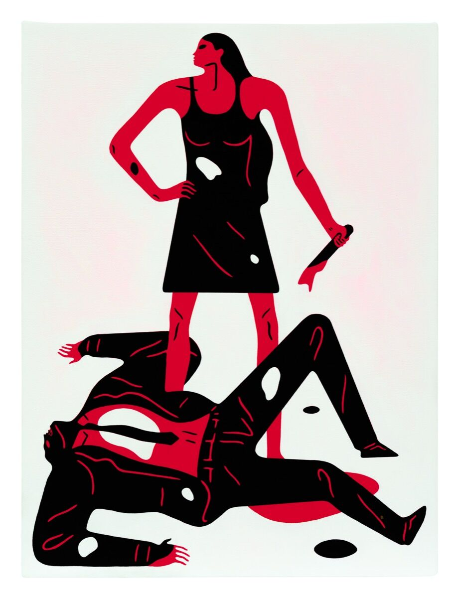 Cleon Peterson, Woman, 2018. Photo by Aaron Farley. Courtesy of the artist and Over the Influence.