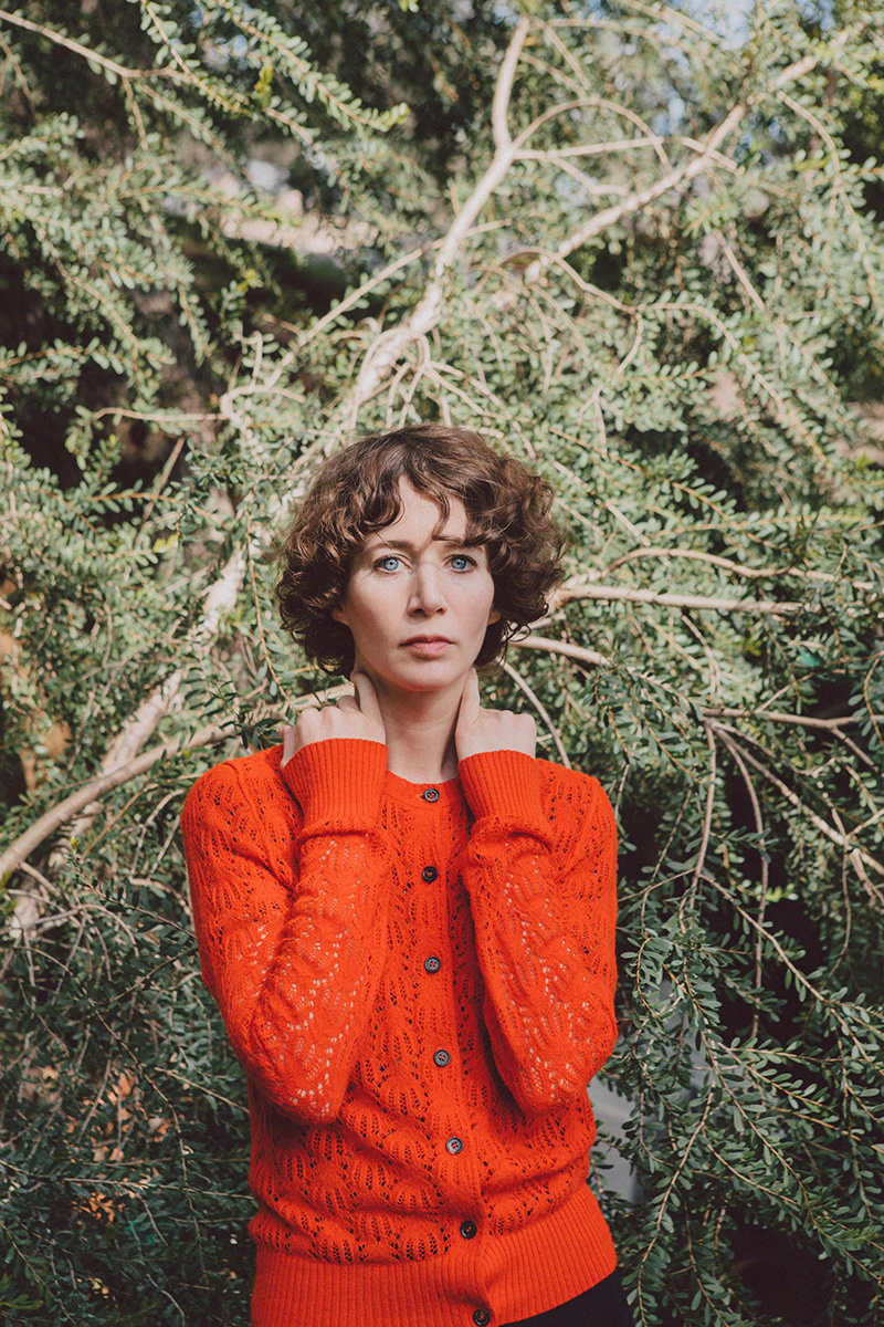 Portrait of Miranda July by Elizabeth Weinberg.