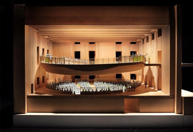 Rendering of Pierre Boulez Saal, © Gehry Partners.