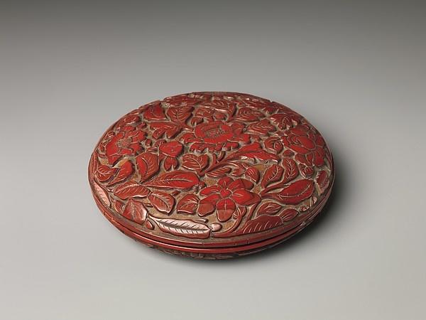 """Box with Camellias,"" China, 13th Century. Image via The Metropolitan Museum of Art."