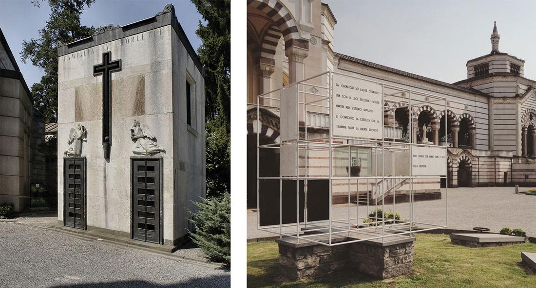 Left: Photo courtesy of Bruno Balestrini. Right: Photo courtesy of Giulia di Marco.