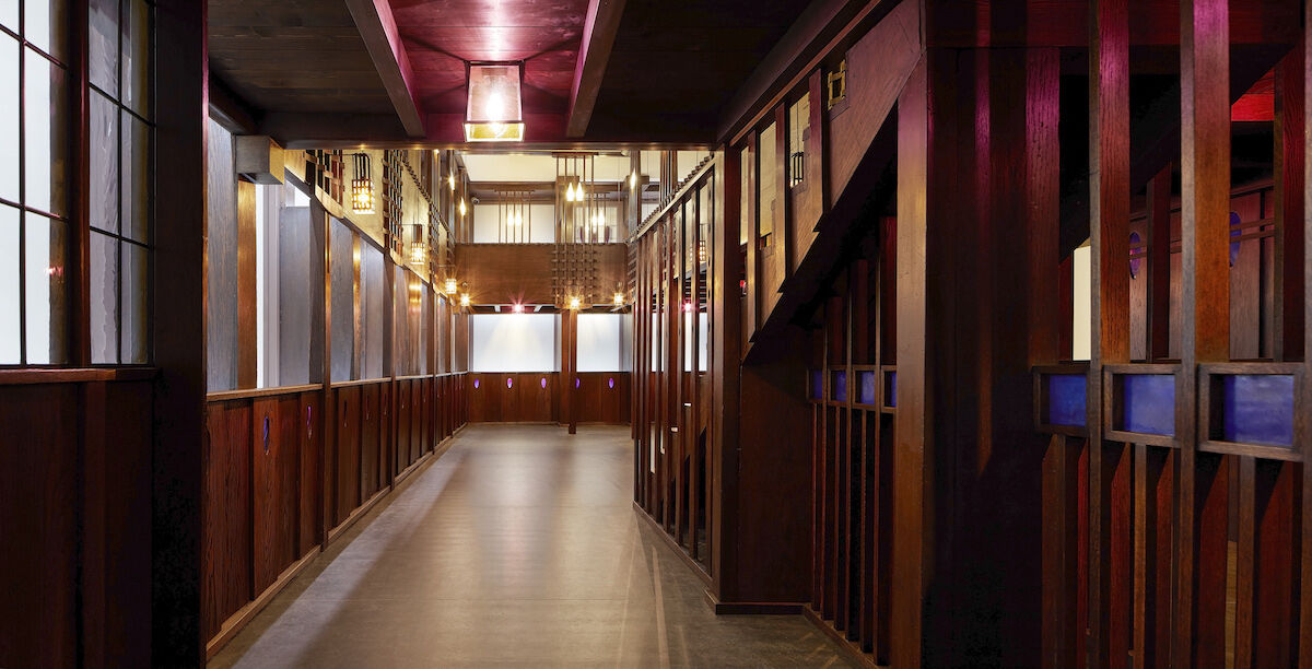 The Charles Rennie Mackintosh tea room at the V&A Dundee. Photo by and © Hufton Crow, courtesy the V&A Dundee.
