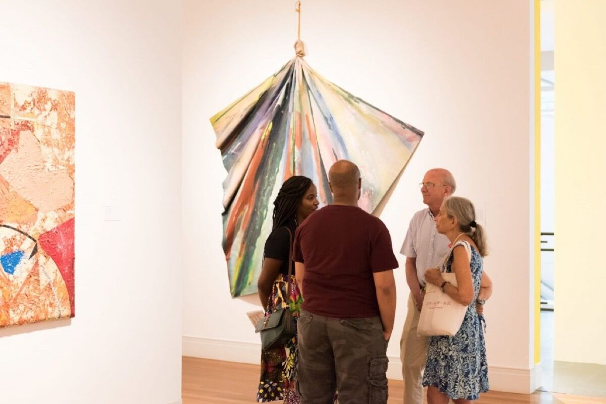 Opening reception of Solidary & Solitary: The Joyner/Giuffrida Collection, Presented by the Helis Foundation at the Ogden Museum of Southern Art. Photo by Chelsea Rousey Photography. Courtesy of the Ogden Museum of Southern Art.