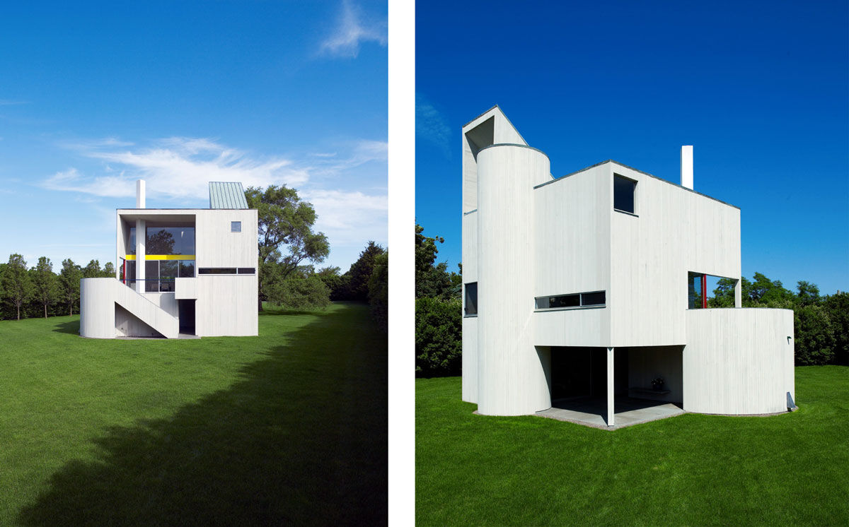 Photos of Gwathmey Residence & Studio courtesy of Richard Powers (@richardpowersphoto).