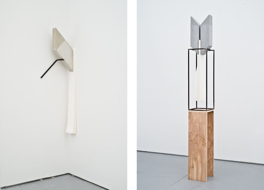 Left: Lucas Simões, Abismo 51, 2016; Right: Lucas Simões, Abismo 52, 2016. Images courtesy of Lora Reynolds Gallery.