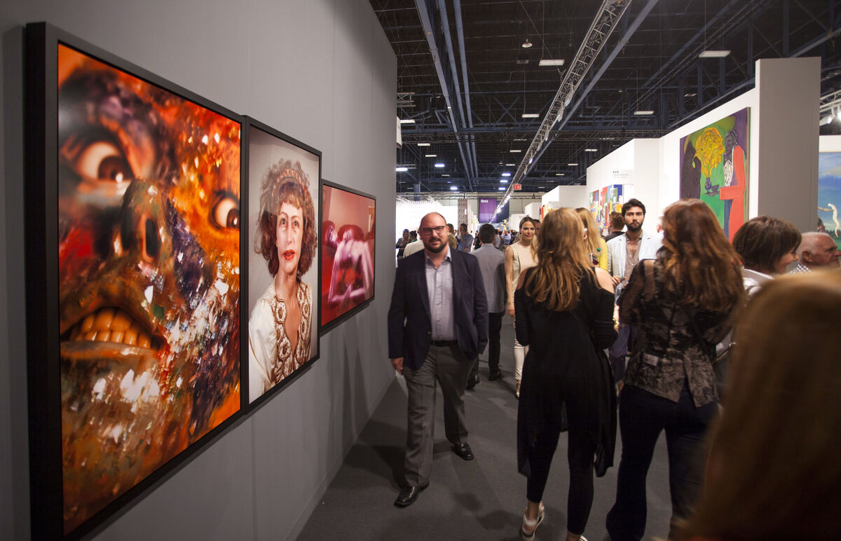 Art Basel in Miami Beach, 2015. Photo by Oriol Tarridas for Artsy.