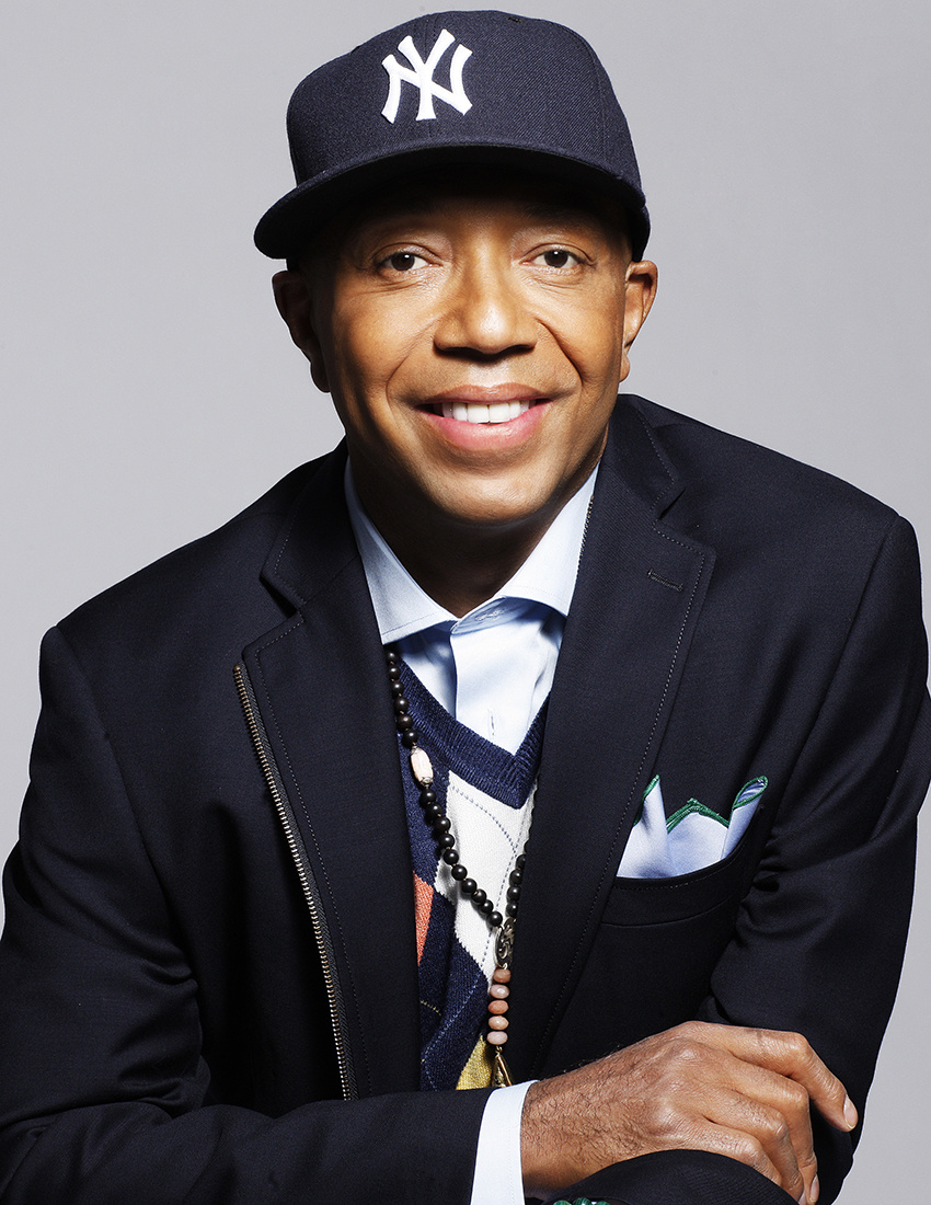Russell Simmons, image courtesy of Fadil Berisha.