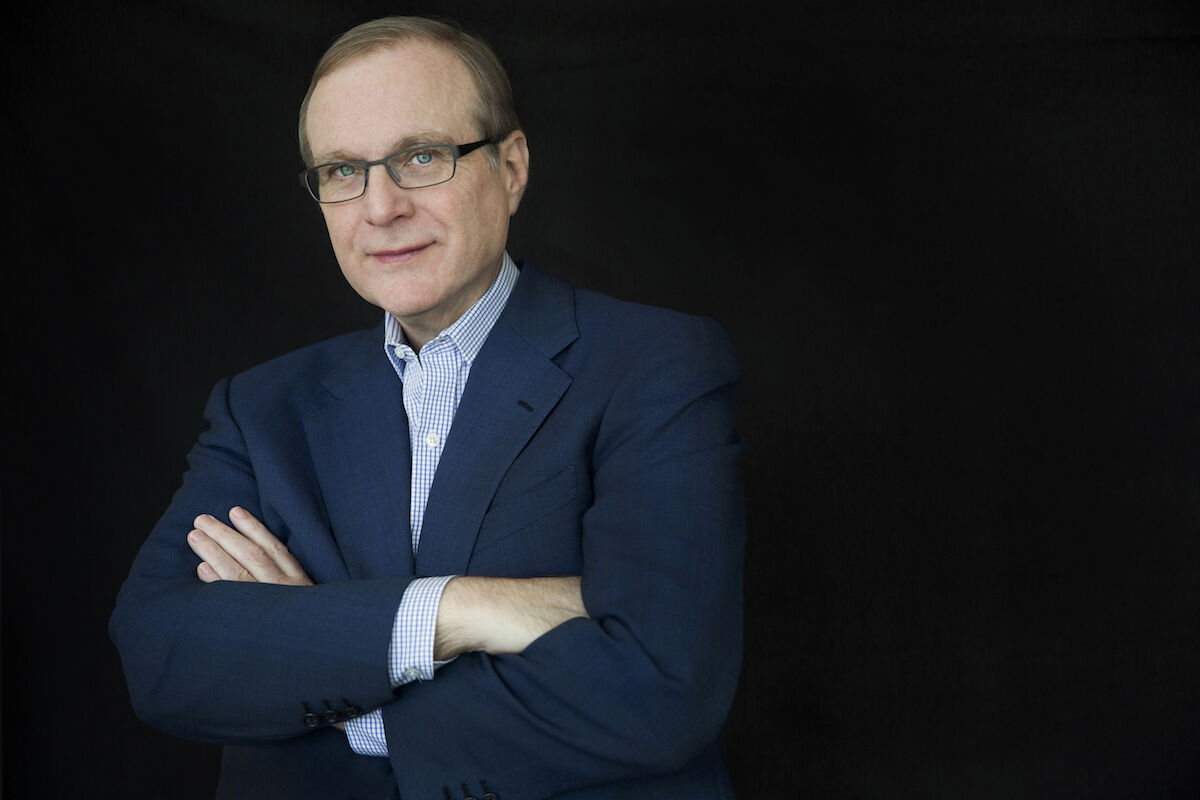 Paul G. Allen in 2014. Photo by Beatrice de Gea, courtesy of Vulcan Inc.