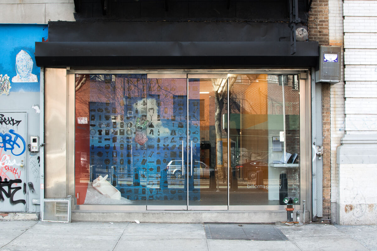 Exterior view of bitforms gallery. Photo by Owen Dodd for Artsy.