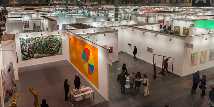 courtesy ARCOmadrid and IFEMA, Feria de Madrid