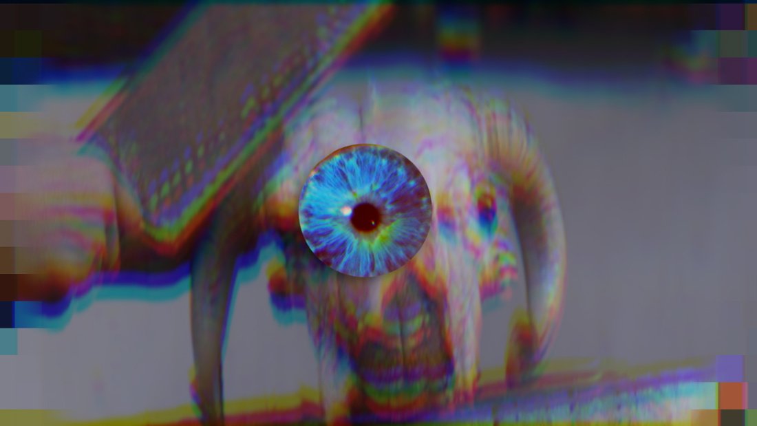 Sophia Al Maria, Evil Eye, 2014. Single channel digital video with audio, Still. Courtesy of the artist and The Third Line.