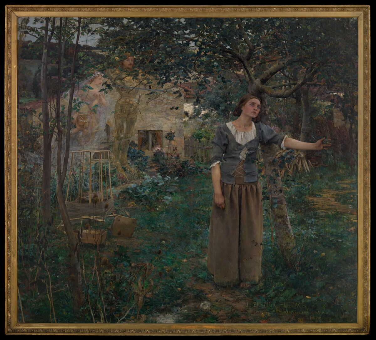 Jules Bastien-Lepage, Joan of Arc, 1879. Courtesy of The Metropolitan Museum of Art.