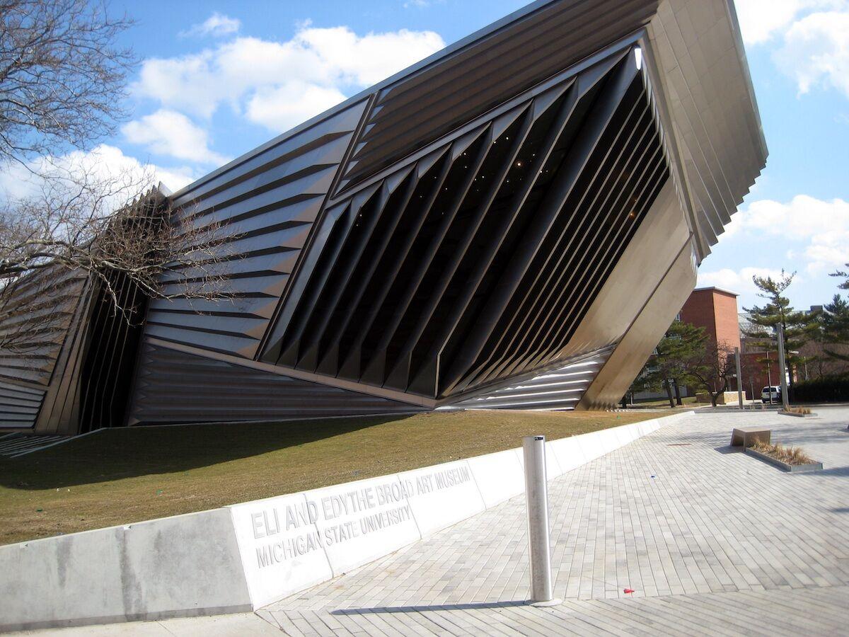 The MSU Broad Art Museum. Photo by Dj1997, via Wikimedia Commons.