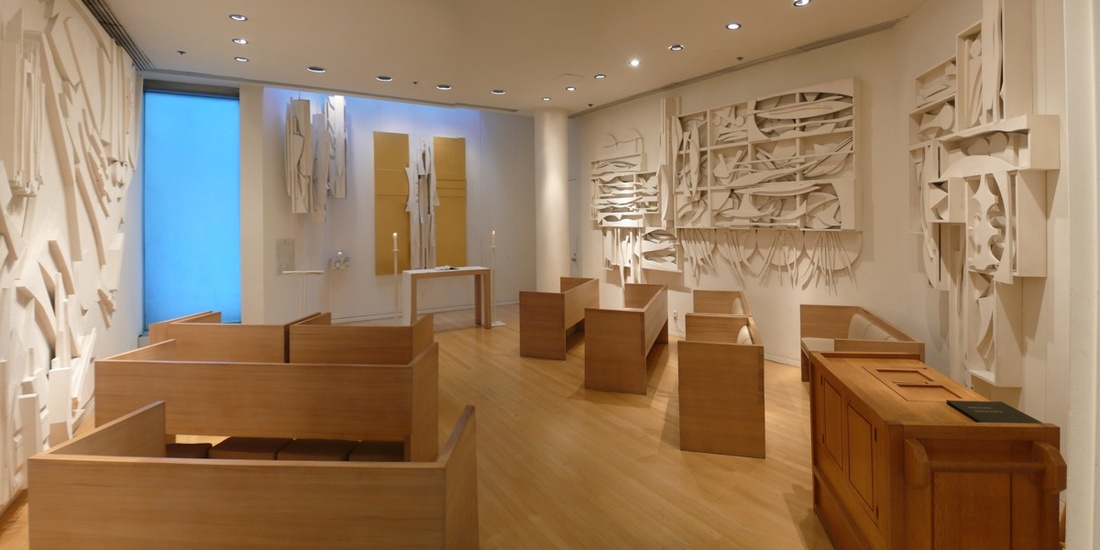 Image of Louise Nevelson Chapel of the Good Shepherd. Courtesy of Saint Peters Church.
