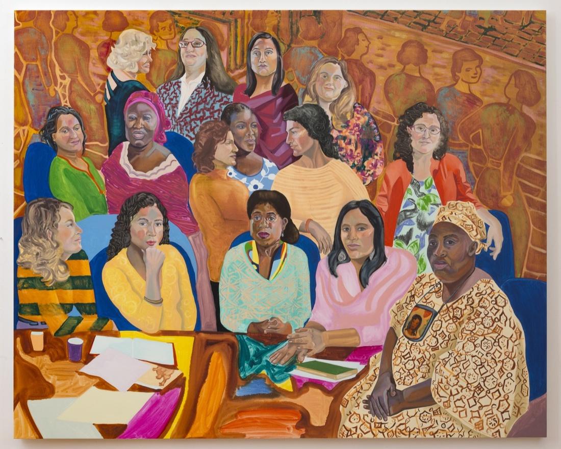 Aliza Nisenbaum,MOIA's NYC Womens Cabinet, 2016. Courtesy James Cohan, New York.